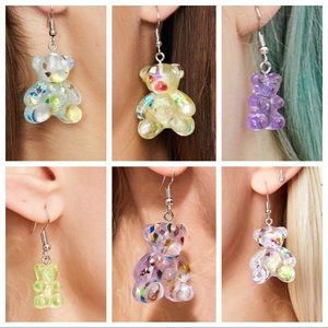 Jewelry - ✨2listings/$25✨new SET EARRINGS GUMMY BEAR